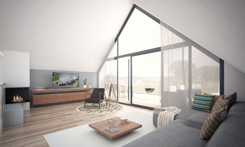 Emejing Extravagantes Penthouse Design Contemporary ...